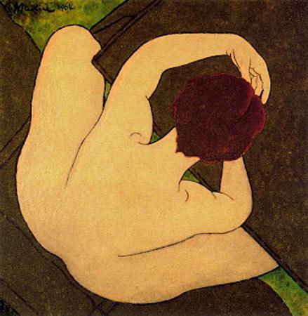 Femme assise, 1964 de Georges Malkine