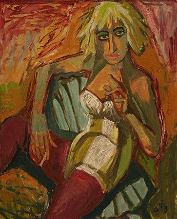 Otto Dix (Gera, Alemania, 2 de diciembre de 1891 – Singen (Hohentwiel), id, 25 de julio de 1969)