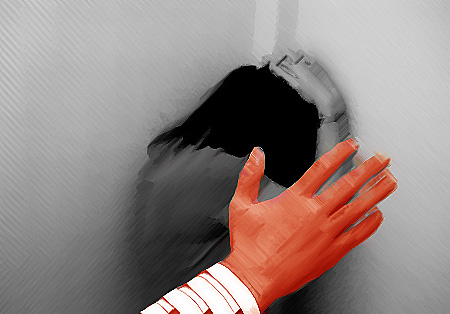 imagen extraída de artículos sobre violencia de género, fuente de imagen Internet