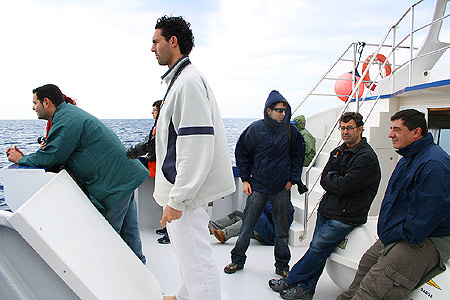 Fotógrafos en las Islas Columbretes 7 ©CRSignes2008