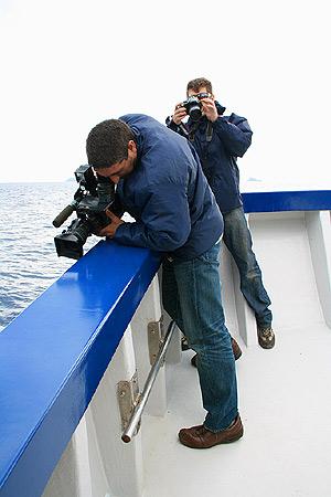 Fotógrafos en las Islas Columbretes o ©CRSignes2008